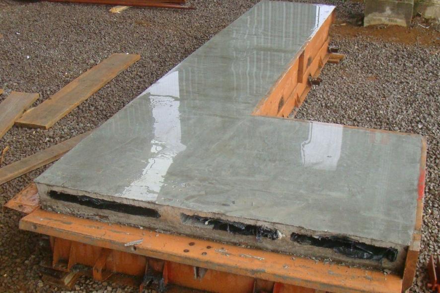 Acabamento da superfície superior